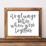 Together - Printable