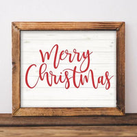 Merry Christmas - Holiday Printable - Printable Digital Download Art by Gracie Lou Printables