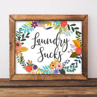 Laundry Sucks - Printable - Gracie Lou Printables