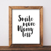 Worry Less - Printable - Gracie Lou Printables