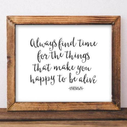 Always Find Time - Printable - Gracie Lou Printables