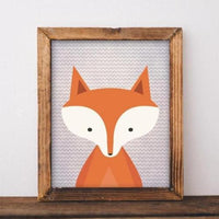 Woodland Fox - Printable - Gracie Lou Printables