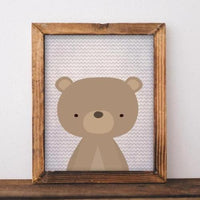 Woodland Bear - Printable - Gracie Lou Printables