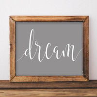 Dream - Printable - Gracie Lou Printables