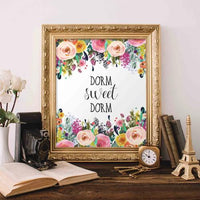Dorm Sweet Dorm - Printable - Printable Digital Download Art by Gracie Lou Printables