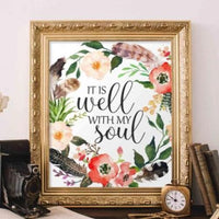 image relating to It is Well With My Soul Printable identify It is Very well With My Soul - Printable