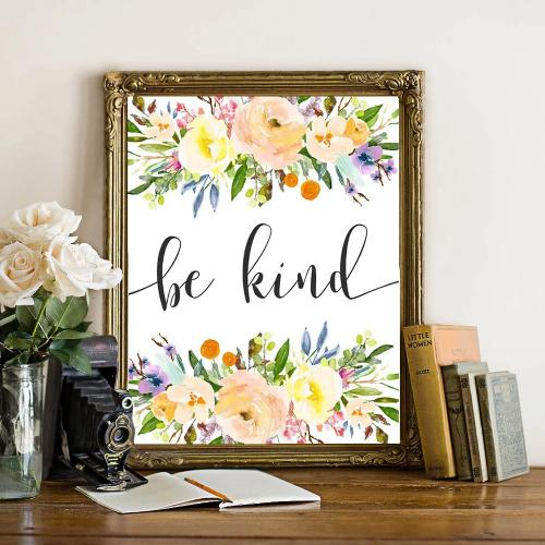 Be Kind - Printable - Printable Digital Download Art by Gracie Lou Printables