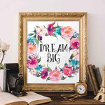 Dream Big - Printable - Gracie Lou Printables