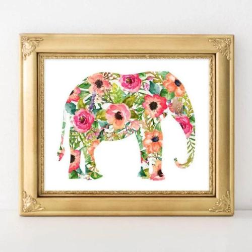 Elephant - Printable - Gracie Lou Printables