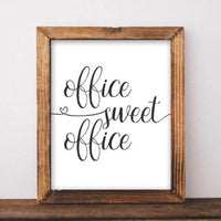 Office Sweet Office - Printable - Gracie Lou Printables