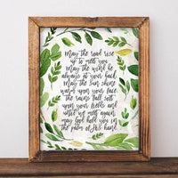 May the Road Rise Up to Meet You - Printable - Gracie Lou Printables