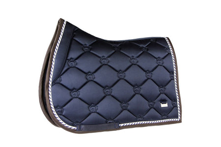 PS of Sweden Dressage Saddle Pad Monogram Deep Sapphire + Bandages