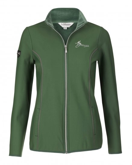 LeMieux Fleece Jacket Hunter Green PREORDER