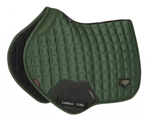 LeMieux Loire Padded Jumping Saddle Pad Hunter Green