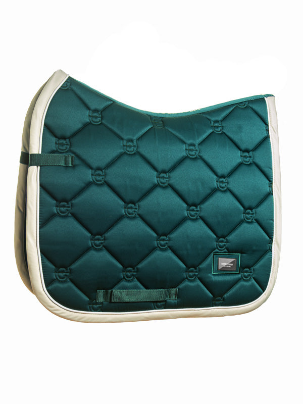 Equestrian Stockholm Dressage Saddle Pad Amazonite