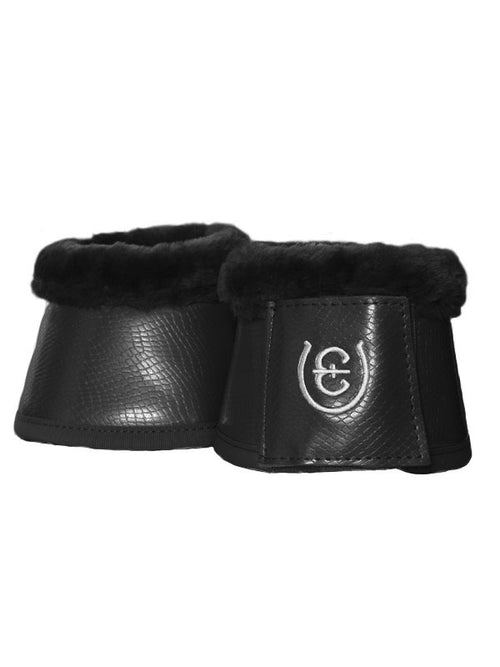 Equestrian Stockholm Fleece Bell Boots Black Edition