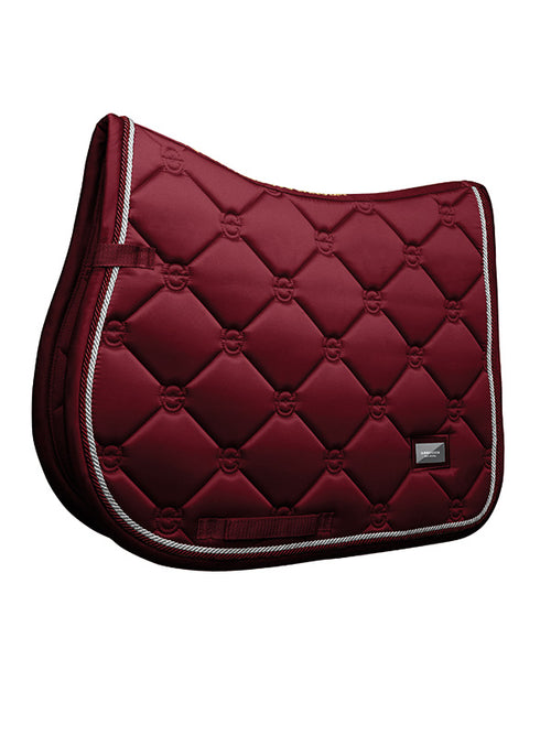 Equestrian Stockholm Jumping Saddle Pad Bordeaux