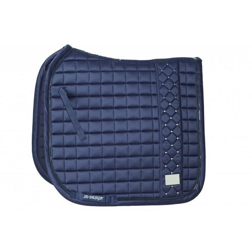SD Design De Luxe Dressage Saddle Pad Blue Nights