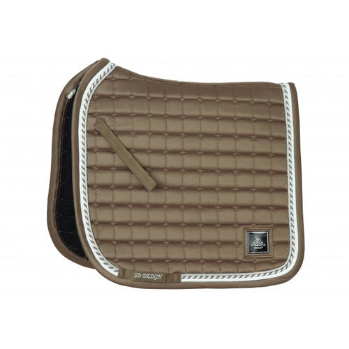 SD Design Signature Dressage Saddle Pad Iced Brown