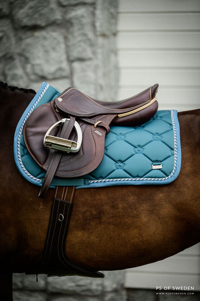 PS of Sweden Jumping Saddle Pad Petrol