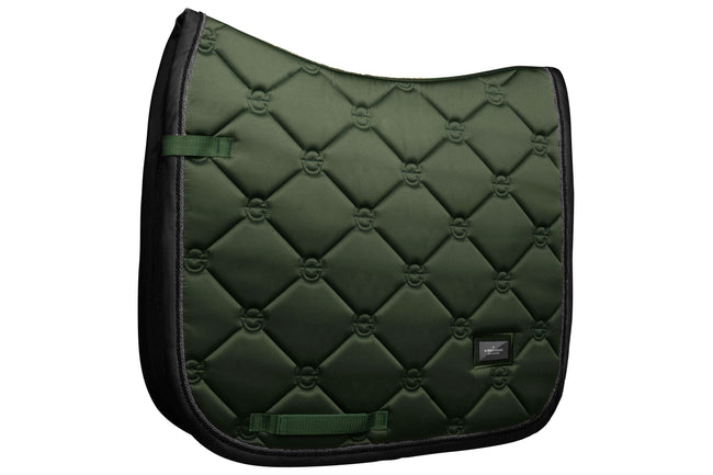 Equestrian Stockholm Dressage Saddle Pad Deep Olivine