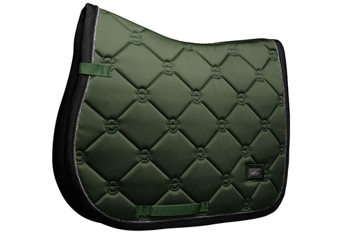 Equestrian Stockholm Jumping Saddle Pad Deep Olivine