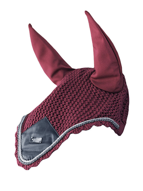 Equestrian Stockholm Ear Bonnet Winter Rose