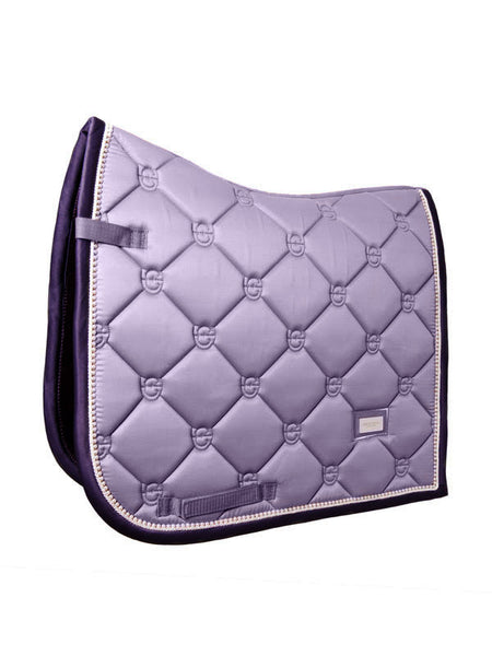 Equestrian Stockholm Dressage Saddle Pad Lavender