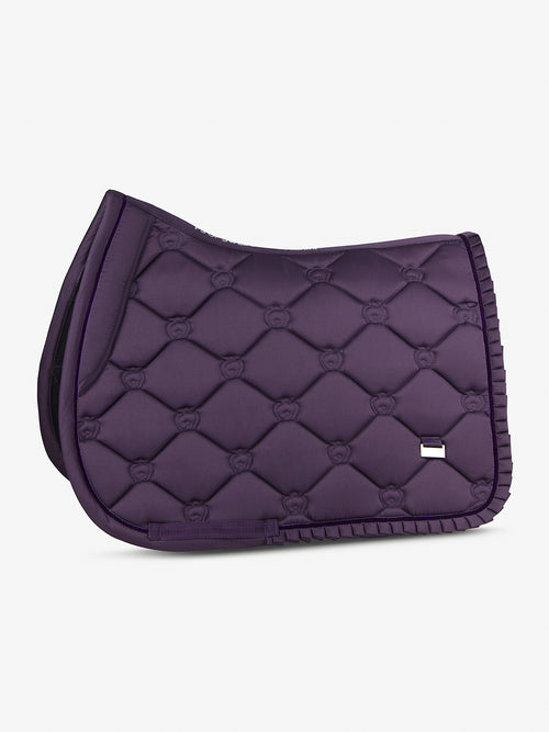 PS of Sweden Ruffle Jump Saddle Pad Plum