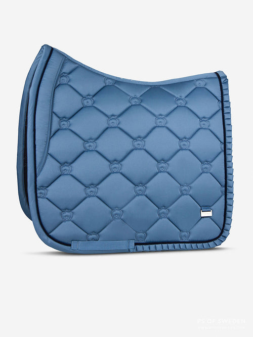 PS of Sweden Ruffle Dressage Saddle Pad Sea