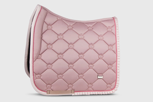 PS of Sweden Ruffle Dressage Saddle Pad Pink