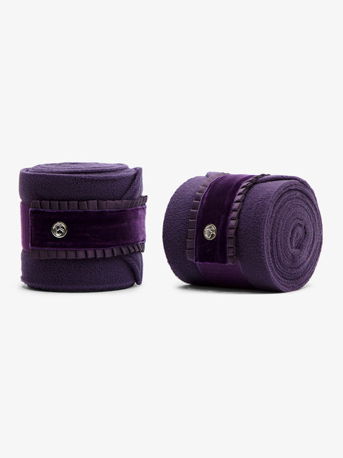 PS of Sweden Ruffle Bandages Plum