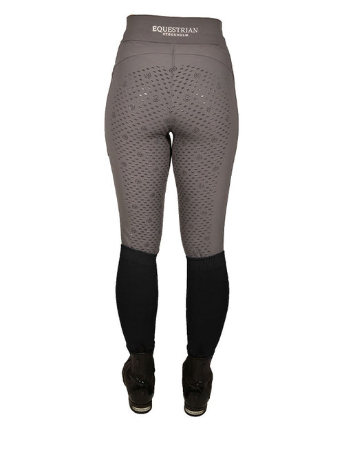 Equestrian Stockholm Full Seat Riding Tights Mocca