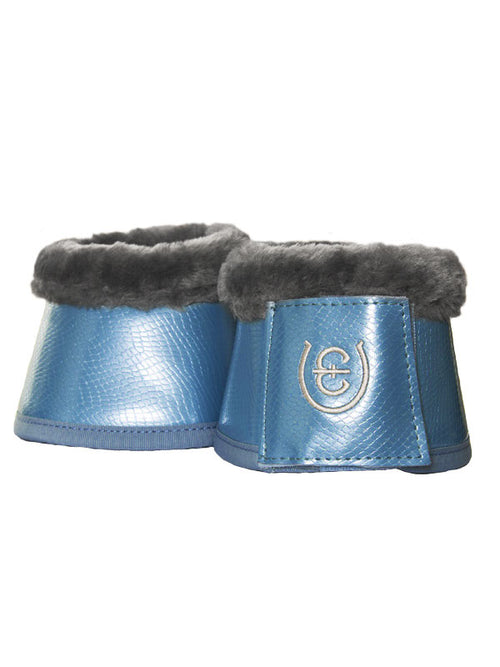 Equestrian Stockholm Fleece Bell Boots Parisian Blue