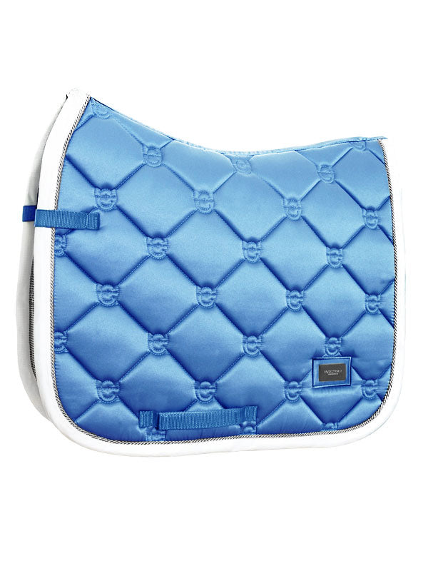 Equestrian Stockholm Dressage Saddle Pad Parisian Blue