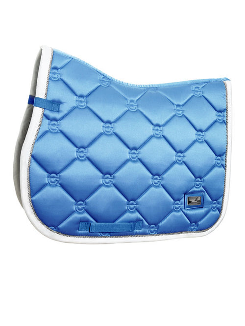 Equestrian Stockholm Jumping Saddle Pad Parisian Blue