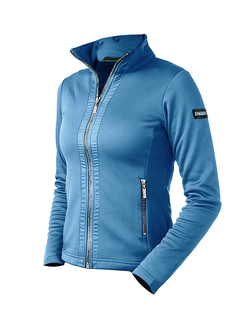 Equestrian Stockholm Fleece Jacket Parisian Blue