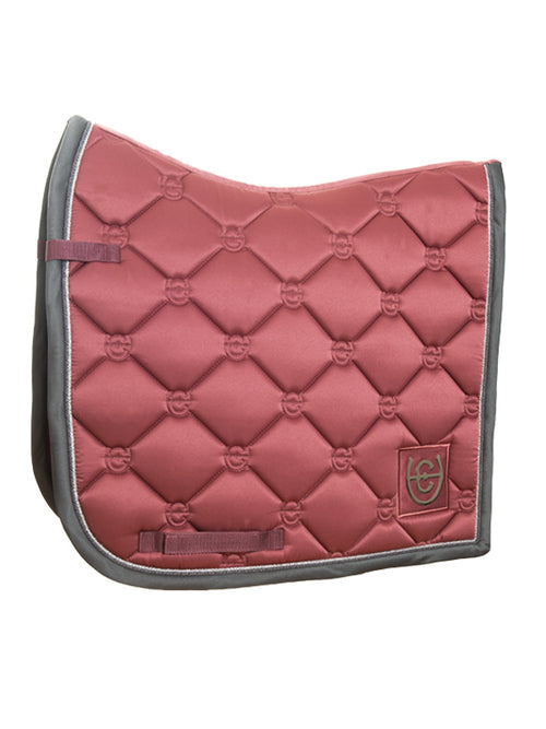 Equestrian Stockholm Dressage Saddle Pad Rose Breeze