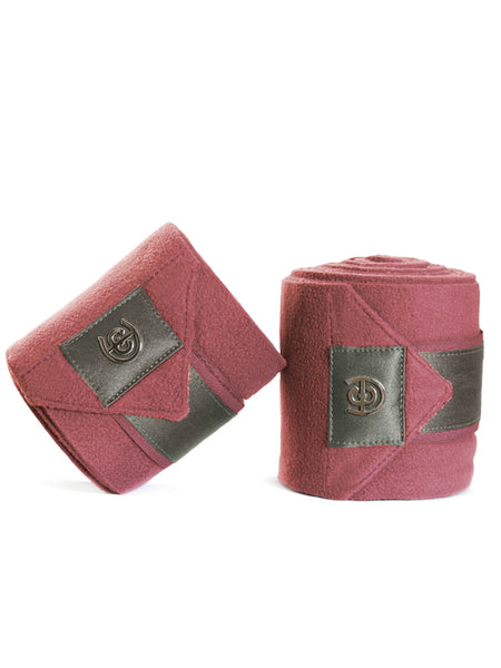 Equestrian Stockholm Ear Bonnet Grey Bordeaux