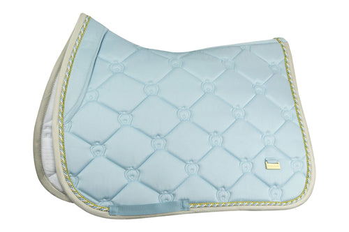 PS of Sweden Jumping Saddle Pad Sky Blue