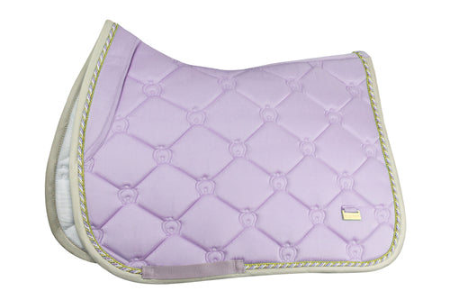 PS of Sweden Jumping Saddle Pad Soft Lilac