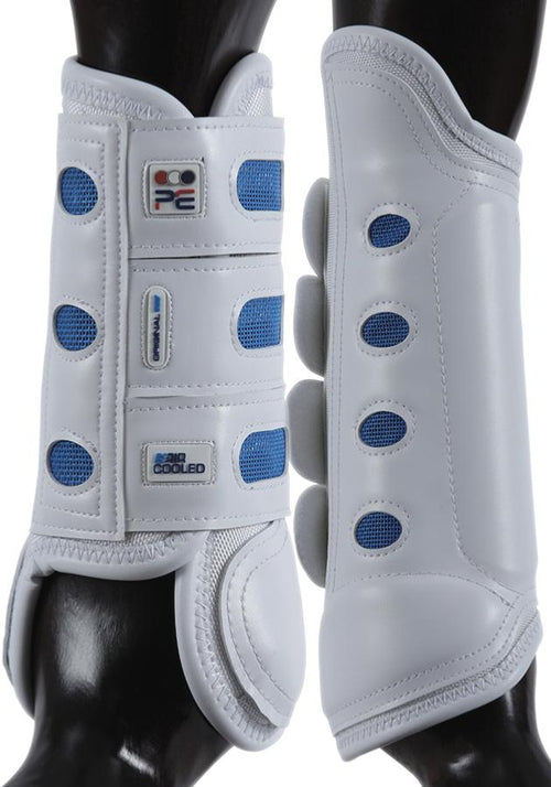 Premier Equine Original Air Cooled Eventing Boots White