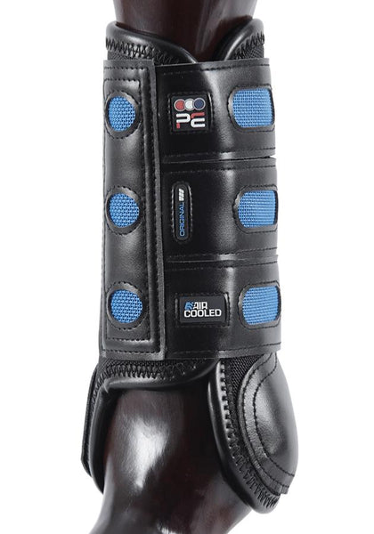 Premier Equine Original Air Cooled Eventing Boots Black
