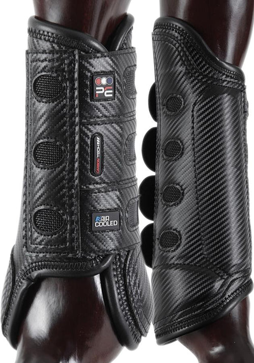 Premier Equine Carbon Tech Air Cooled Eventing Boots Black