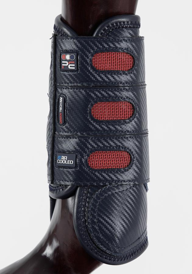 Premier Equine Carbon Tech Air Cooled Eventing Boots Navy