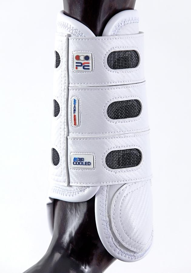Premier Equine Carbon Tech Air Cooled Eventing Boots White