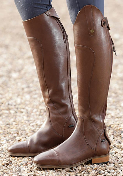 Premier Equine Mazziano Riding Boots Brown