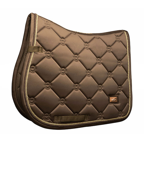 Equestrian Stockholm Jumping Saddle Pad Champagne