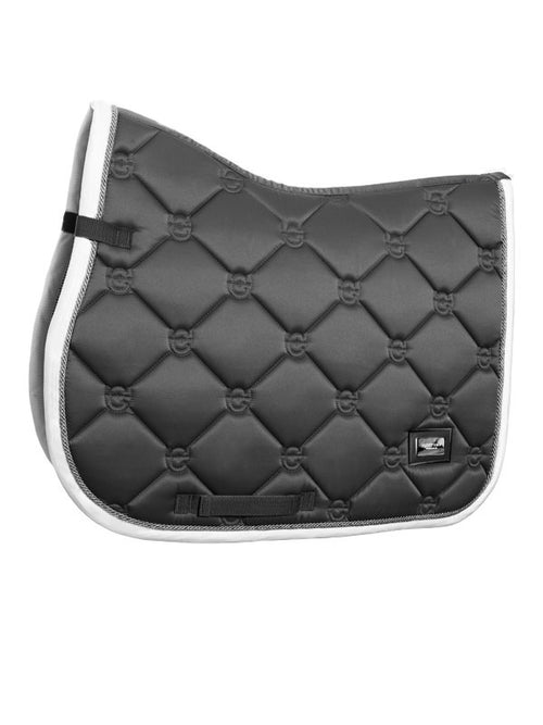 Equestrian Stockholm Jumping Saddle Pad Silver Cloud