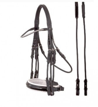 ANKY Bridle Black Patent Pony